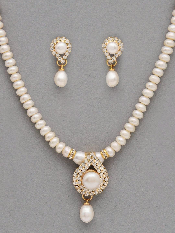 White Pearl Jewellery Set   Women\'s Fine Jewelry Sets   Pinterest ...