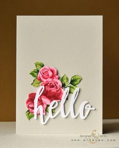 Fancy some Vintage Roses? This highly detailed multi-step stamp set will give…