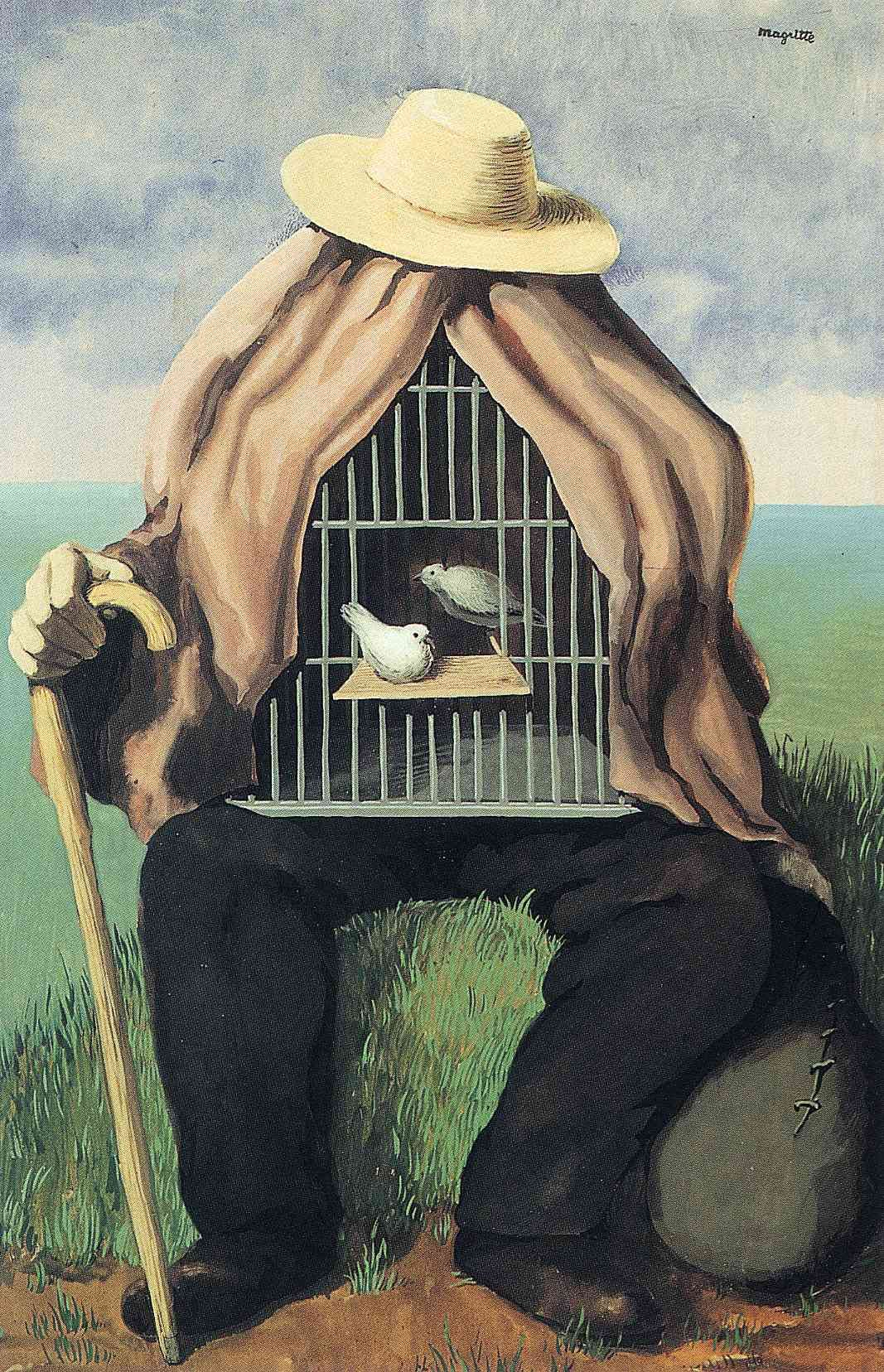 ✯ Artist René Magritte - The Therapeutist ✯ René Magritte ( 1898 ...