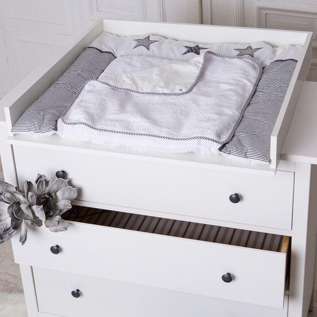 Ikea Wickeltischaufsatz wickelaufsatz wickeltischaufsatz in weiß für alle ikea hemnes