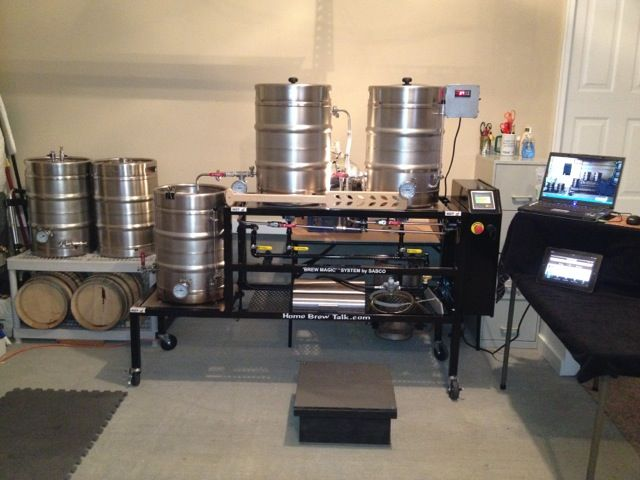 My Home Brew Setup Cheers Home Brewery Home Brewing Equipment Beer Brewing