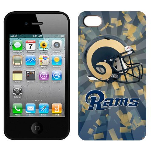 NFL St.Louis Rams Helmet IPhone 4 4S Case,wholesale NIKE NFL Jerseys NFL
