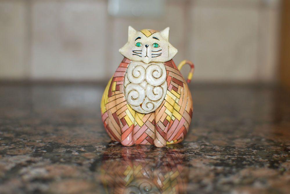 Kitty figurine on ebay