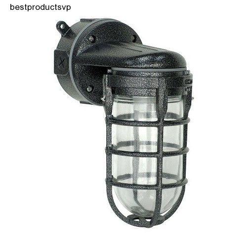 ebay outdoor wall mount light fixture sconce black
