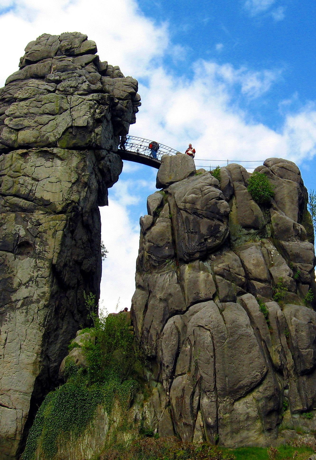 Externsteine, Germany: incredible nature rock formation | NTripping.com