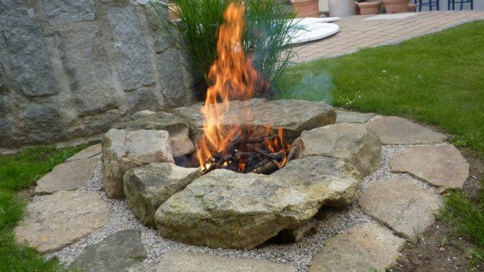 Feuerplatz Im Garten feuerplatz im garten suche feuerstelle