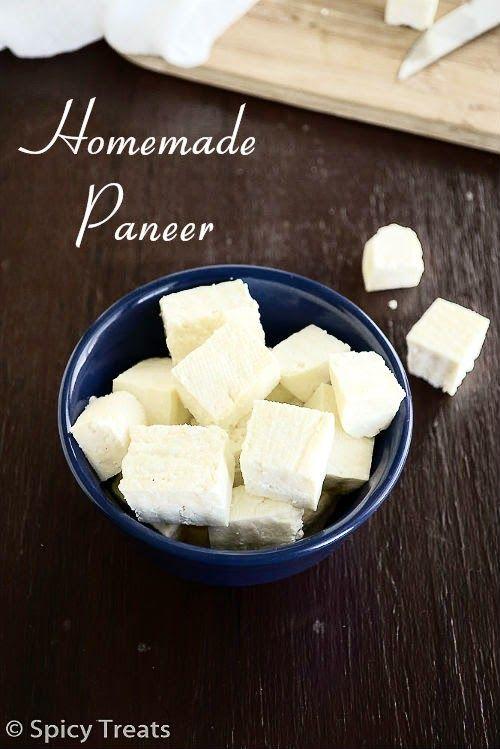Homemade Paneer Recipe