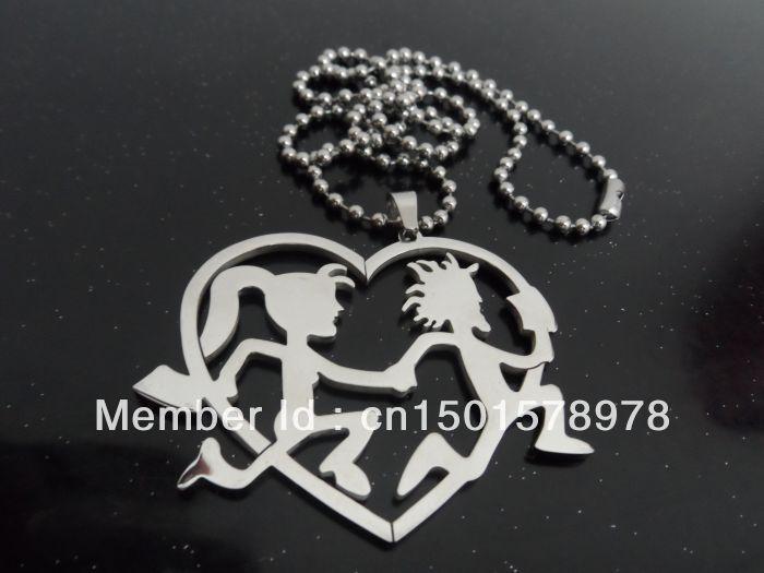 juggalo jewelry | ... steel princess hatchetman charm pendant free ...