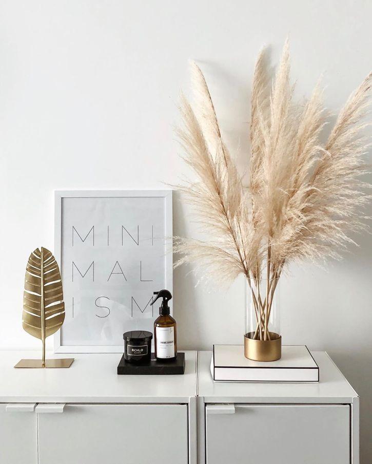 şifonyer, yatak odası, ev dekorasyon fikirleri, ev dekoru, pampas