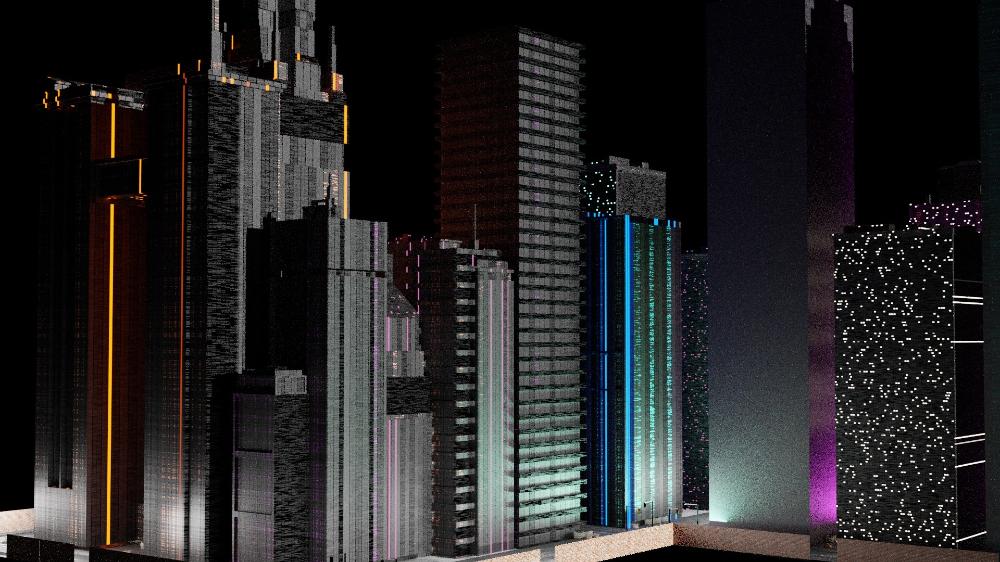 Free City Building 3d Model Turbosquid 1621410 In 2020 3d Model City Buildings Free City