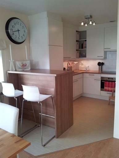 I like this idea for a small kitchen diner.
