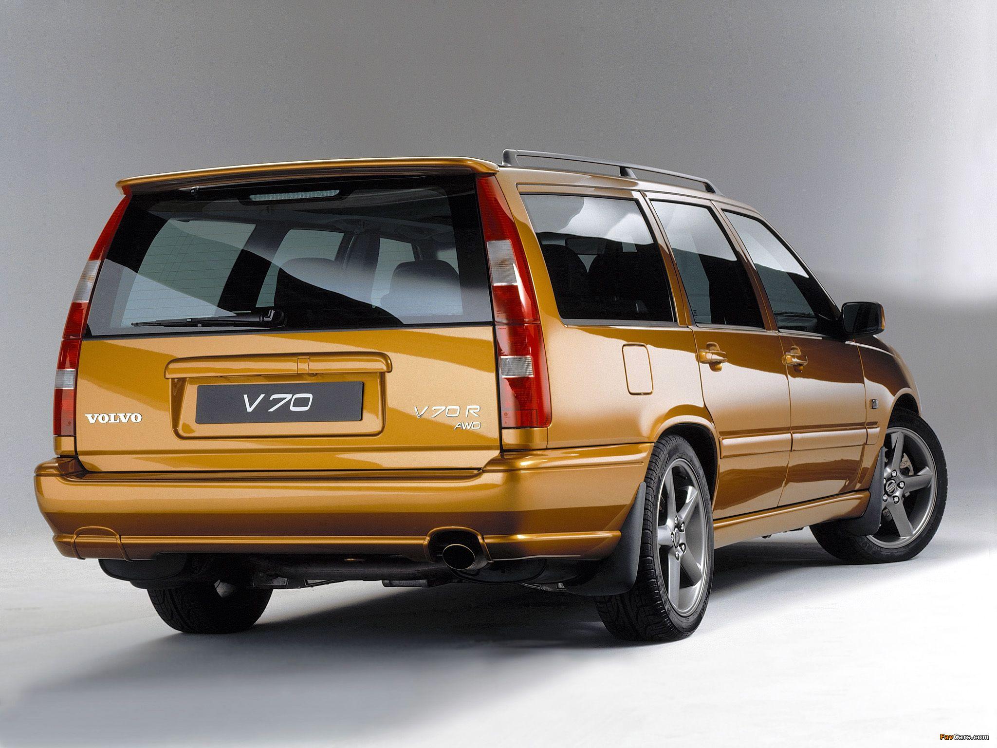 A B D F D C Cd Df on 1998 Volvo V70 Station Wagon