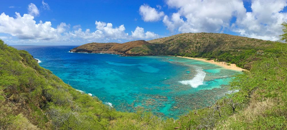 Hanauma Bay is one of the safest and best places to go