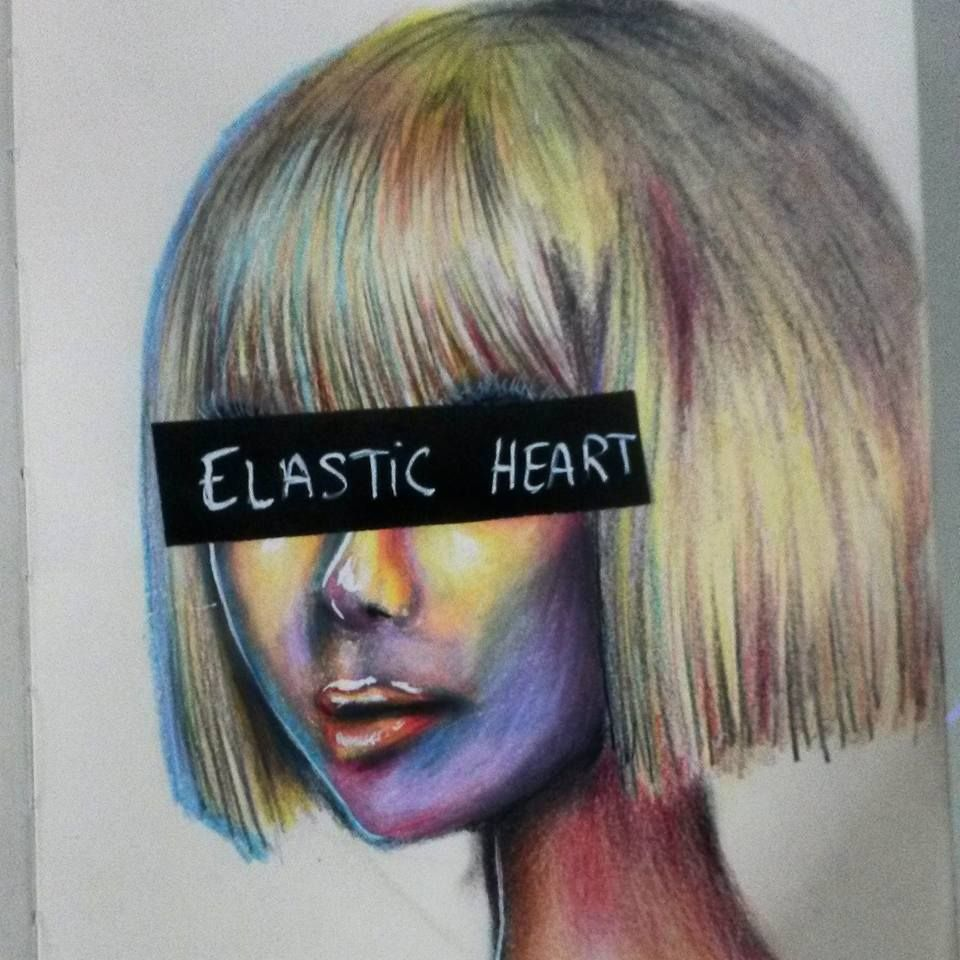 Sia chandelier art selfmade drawing sia pinterest sia chandelier art selfmade drawing aloadofball Images