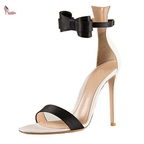 Chaussures automne à talon aiguille à bout pointu LvYuan noires femme llMjBrsGqU