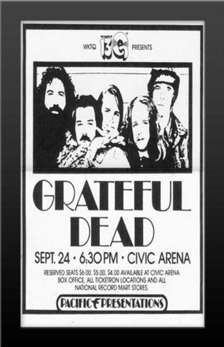 Grateful Dead Live at the Civic Arena 11x17 Music Concert Poster ...