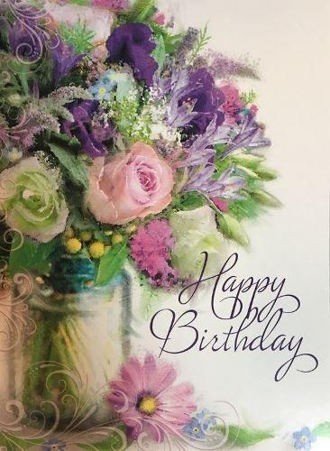 Pin Von Dagmar Kuhn Auf Geburtstag Geburtstag Blumen Alles Gute