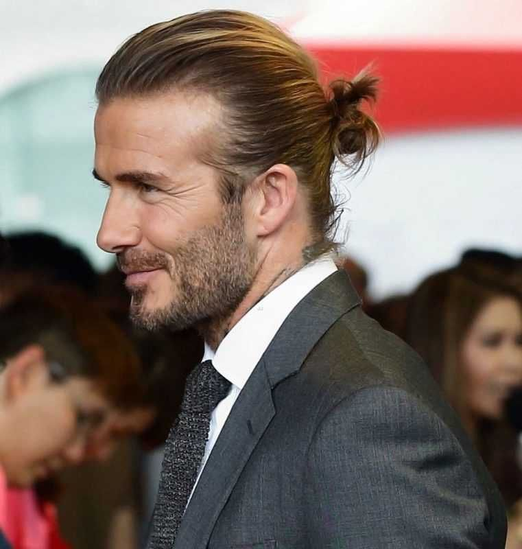19 Men S Long Hairstyles Hair Of The Gods Royal Fashionist David Beckham Long Hair David Beckham Hairstyle David Beckham Suit