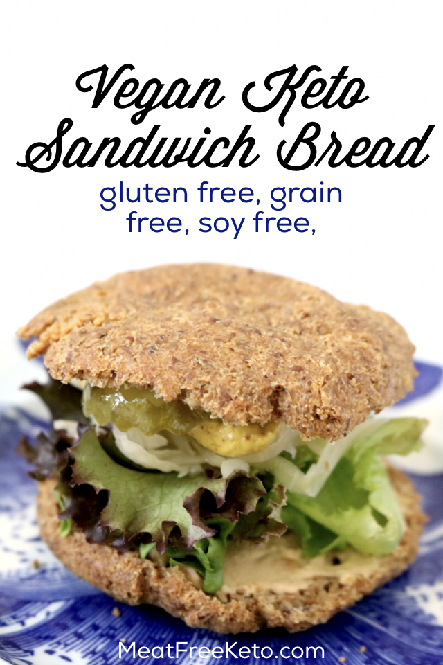 Low Carb Vegan Sandwich Bread Soy Free Grain Free Gluten Free