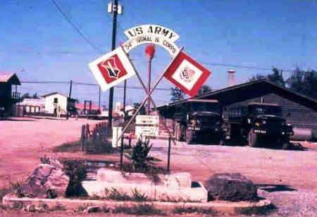 54th Signal Bn, Camp Mcdermott 1969   Signage in Vietnam ...