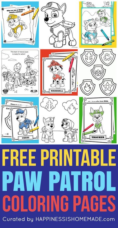 Quatang Gallery- Free Printable Paw Patrol Coloring Pages Are Fun For Kids Of All Ages Love Paw Patrol You Ll Go Crazy For These Printable Paw Patrol Coloring Sheets Featuring