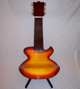 Guitar Shaped Chair