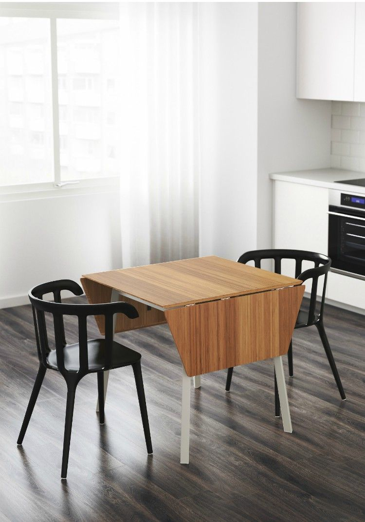 Twenty Dining Tables That Work Great In Small Spaces Ikea Table