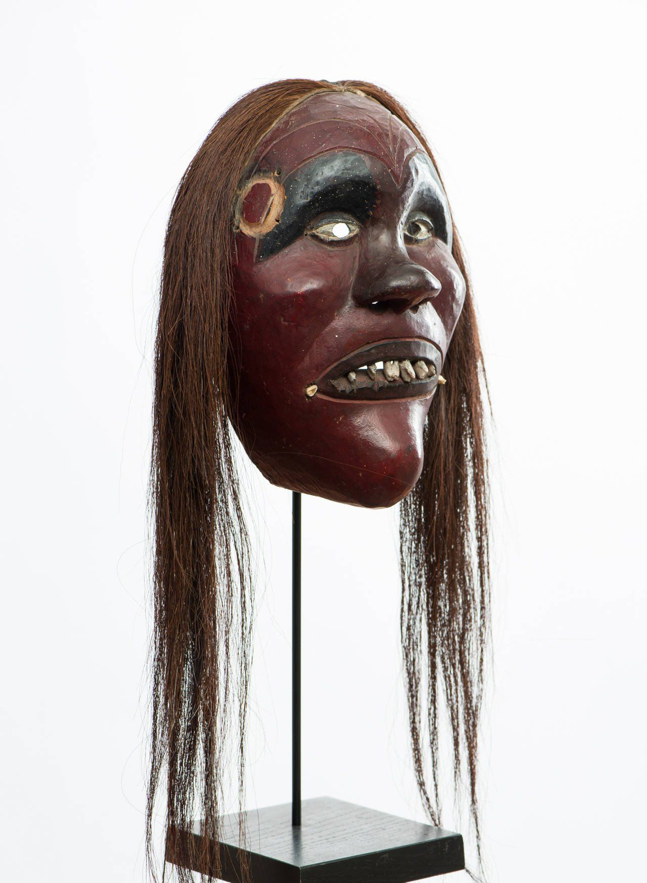 Image result for iroquois art museum Halloween face