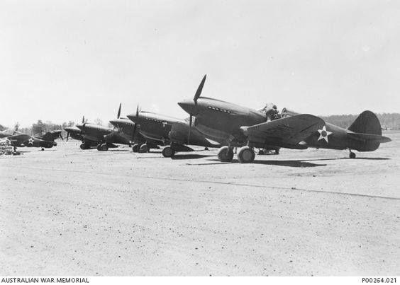 P-40 Warhawk, 49th Fighter Group, Townsville, Australia, 1942