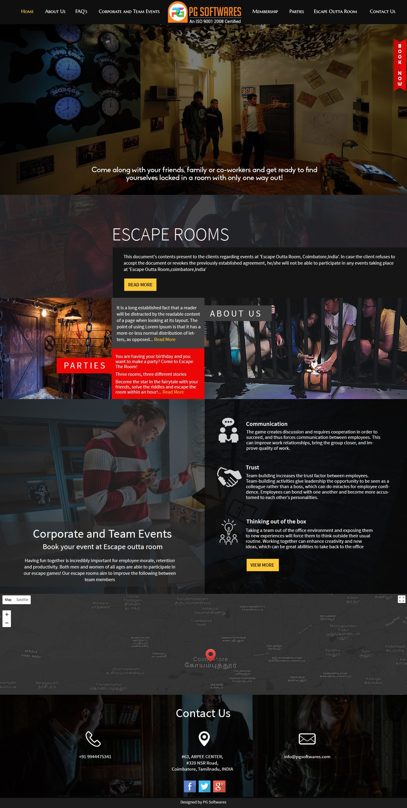 Game Center - Responsive Website Template #website #game #theme ...