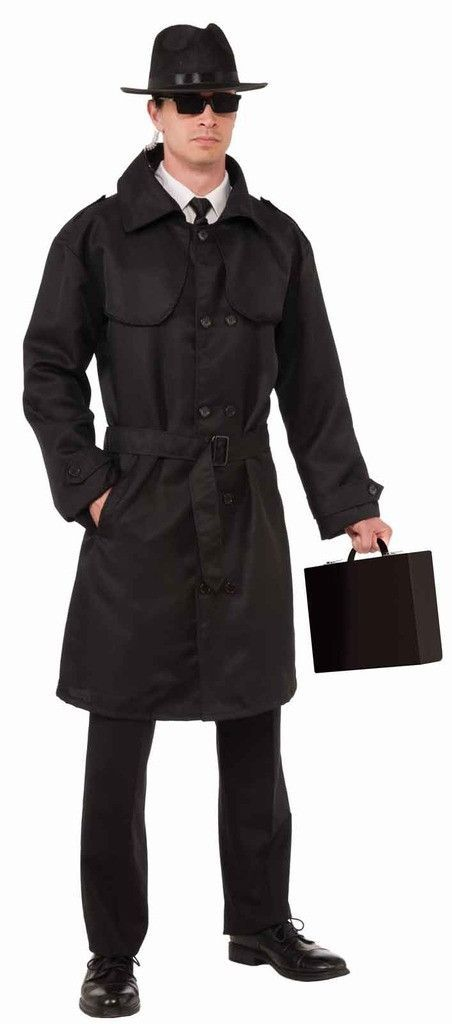 8f1325d45d Spy Trench Coat This costume includes one jacket. Does not include hat