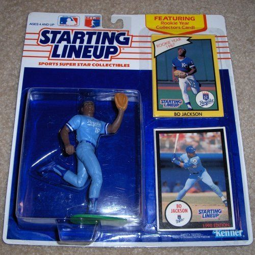 1990 Bo Jackson Mlb Starting Lineup By Kenner 1195