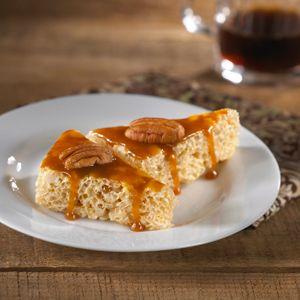 Caramel and Pecan Rice Krispies Treats™ – El dulce de leche, también llamado arequipe o cajeta, es un caramelo tradicional en México y Latinoamérica. Lo puedes encontrar en el pasillo de productos latinos en el