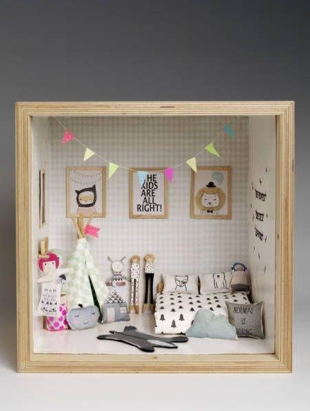 Get Your Tiny Things Fix Here: These Diorama Dream Homes Are Everything #miniaturerooms