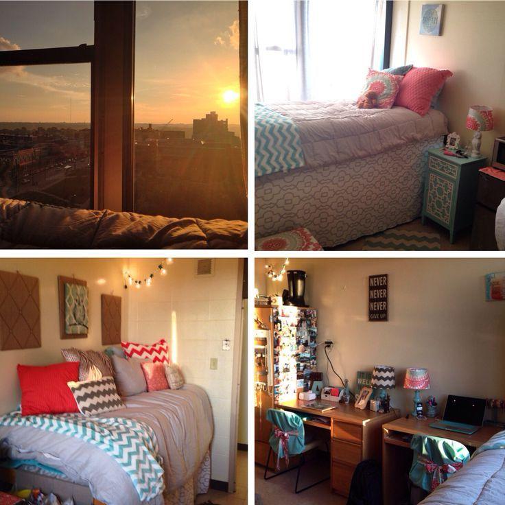 Dorm room at the University of Cincinnati