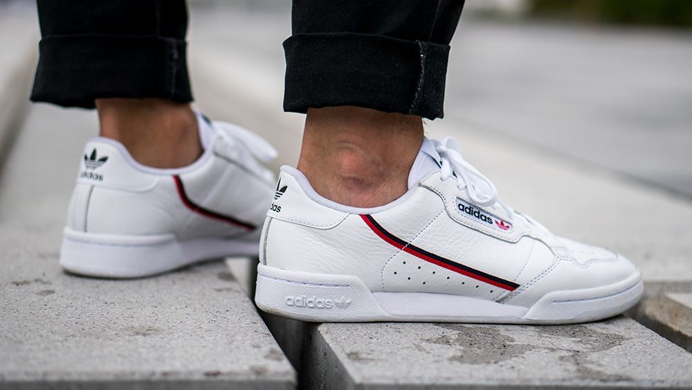 adidas original continental 80 homme blanche