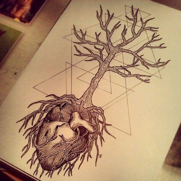 Baum anatomisches herz   wanna do spiritual flash in 2018 ...