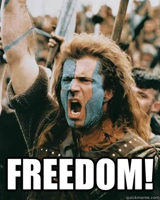 braveheart freedom - Google Search (With images) | Haha funny ...