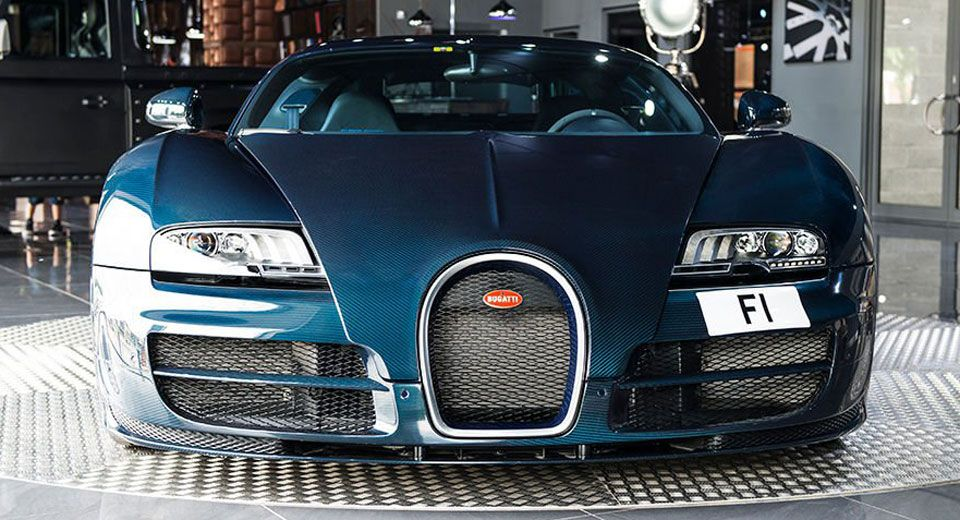 Forget The Bugatti Chiron Get This Blue Carbon Veyron Super Sport
