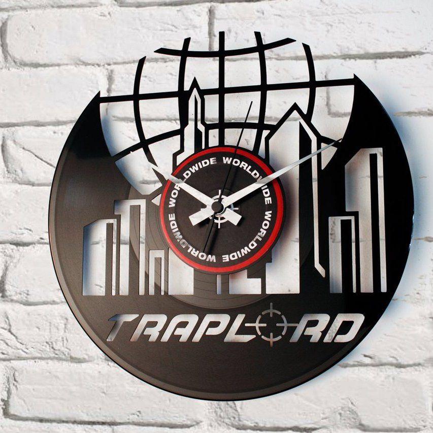 Traplord A$AP Ferg Vinyl Wall Clock #clock, #innovativedesign, #unique, #wall