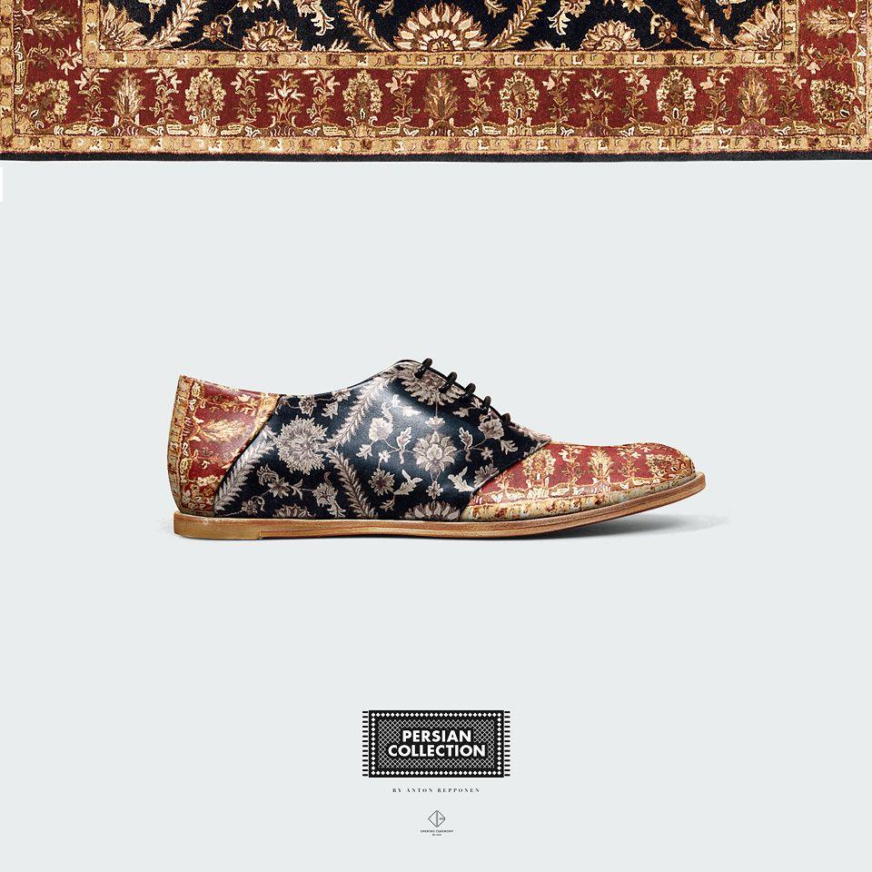 Persian Shoes - Anton Repponen - Museum of Design Artifacts ... 2d4484b1cd6