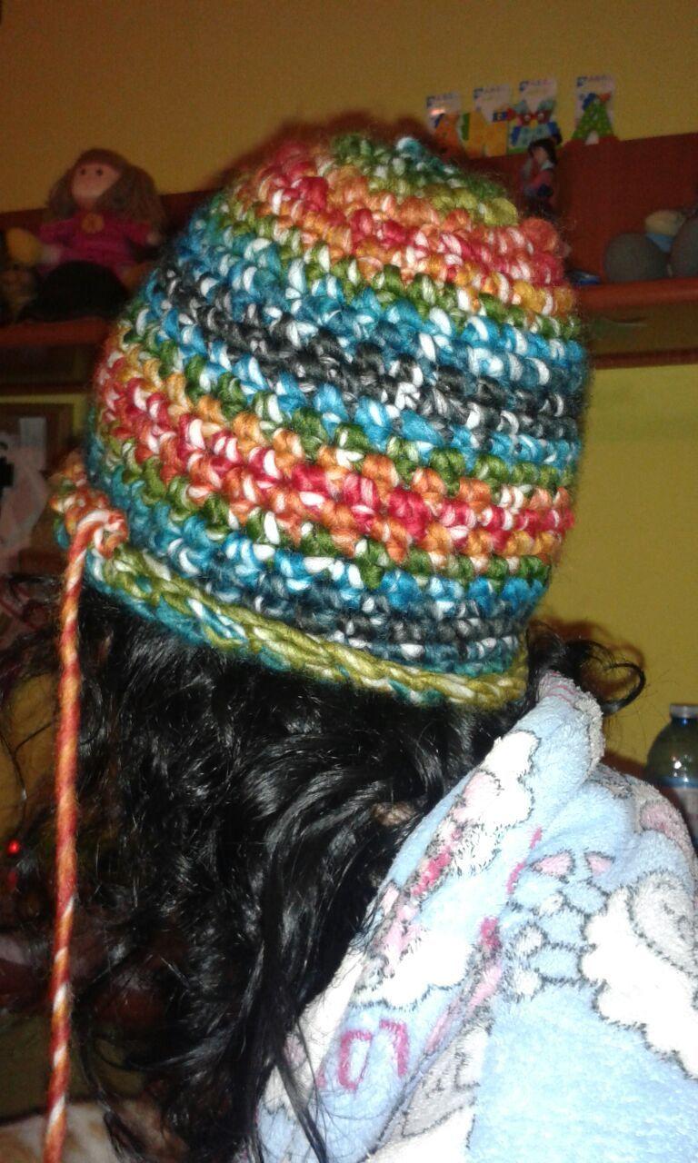 Gorro de crochet