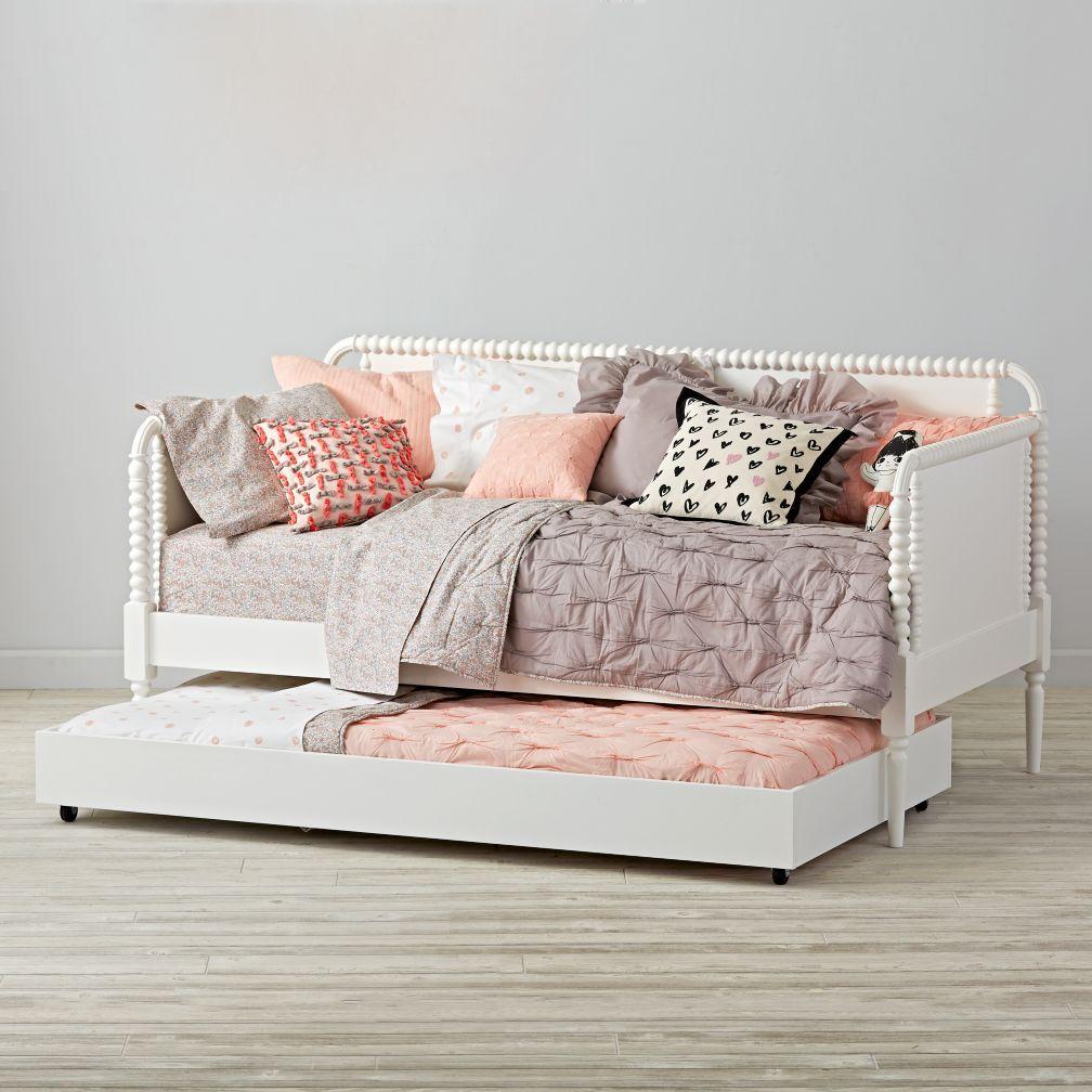Dhp Modern White Metal Twin Canopy Bed Little Leia Nichole