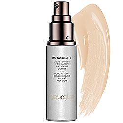 Hourglass Immaculate Liquid Powder Foundation Mattifying Oil Free in Ivory - fair to light with yellow undertones #sephora