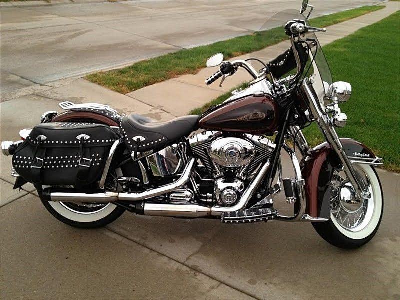 2009 Harley Davidson Flstc Heritage Softail Classic Custom Choppers Custom Bikes Softail