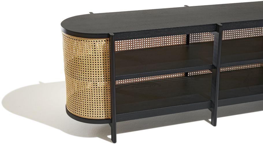 new product 4e8bd 91a01 Cane Media Console | Misc Furniture | Console, Furniture ...