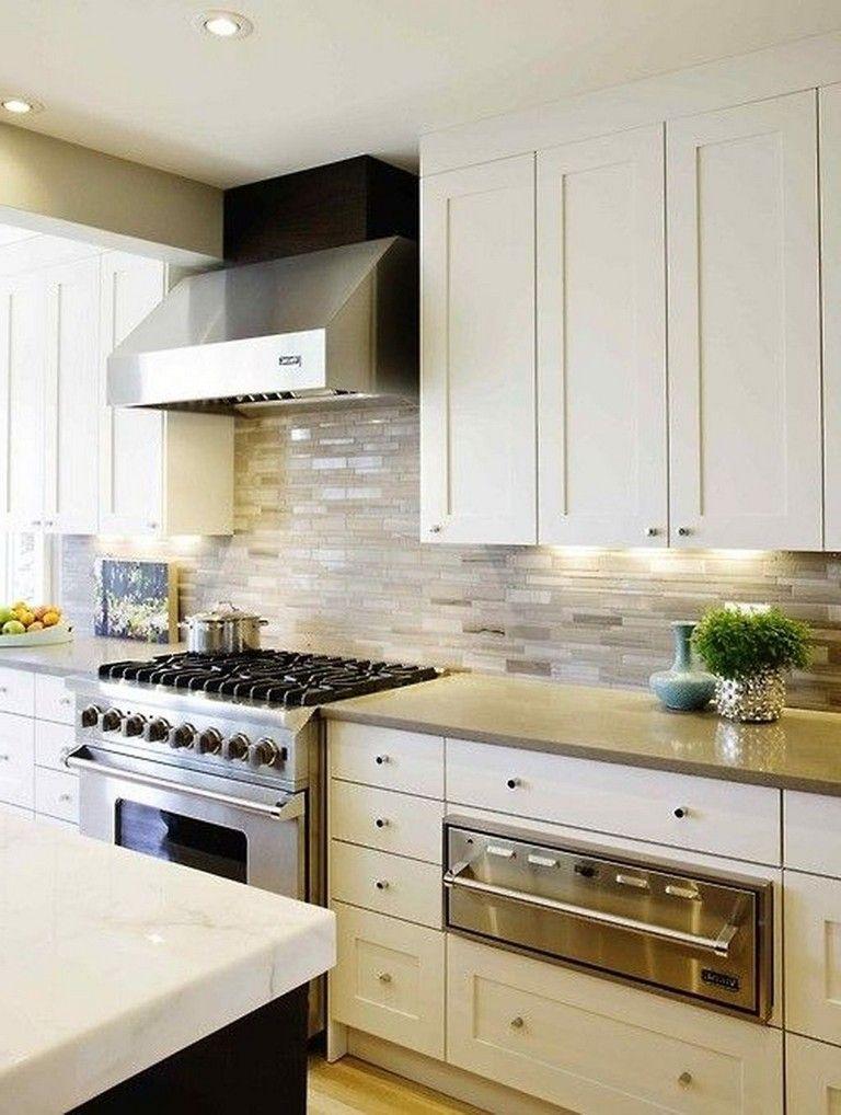 35+ Elegant White Kitchen Backsplash Design Ideas Page