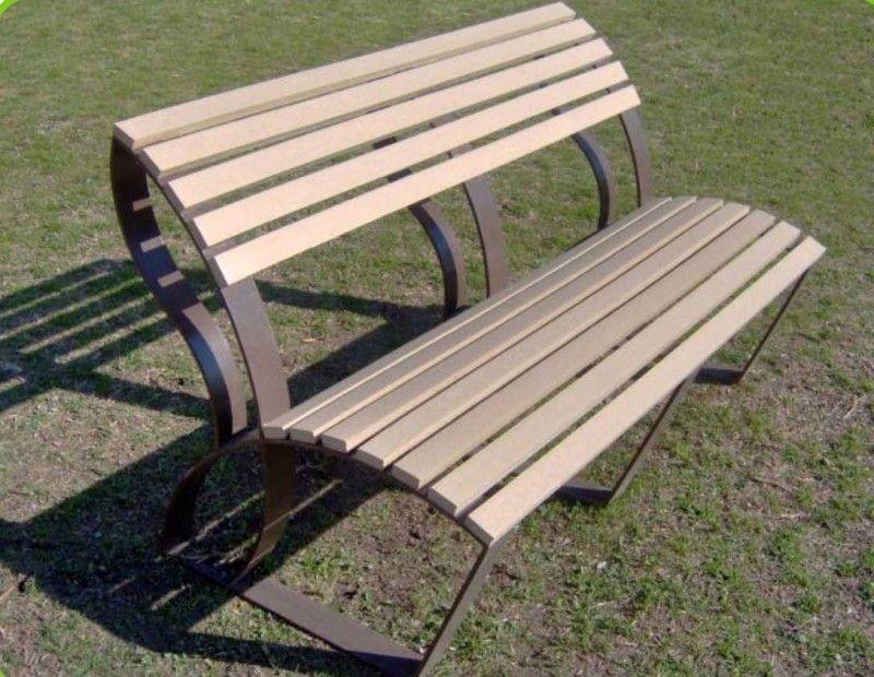 BANCAS-MOBLITECK carpinteria Pinterest Muebles de exterior - jardines con bancas
