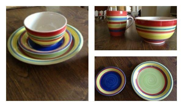 Brylane Home Santa Fe Collection Dinnerware Giveaway Dinnerware Tableware Home
