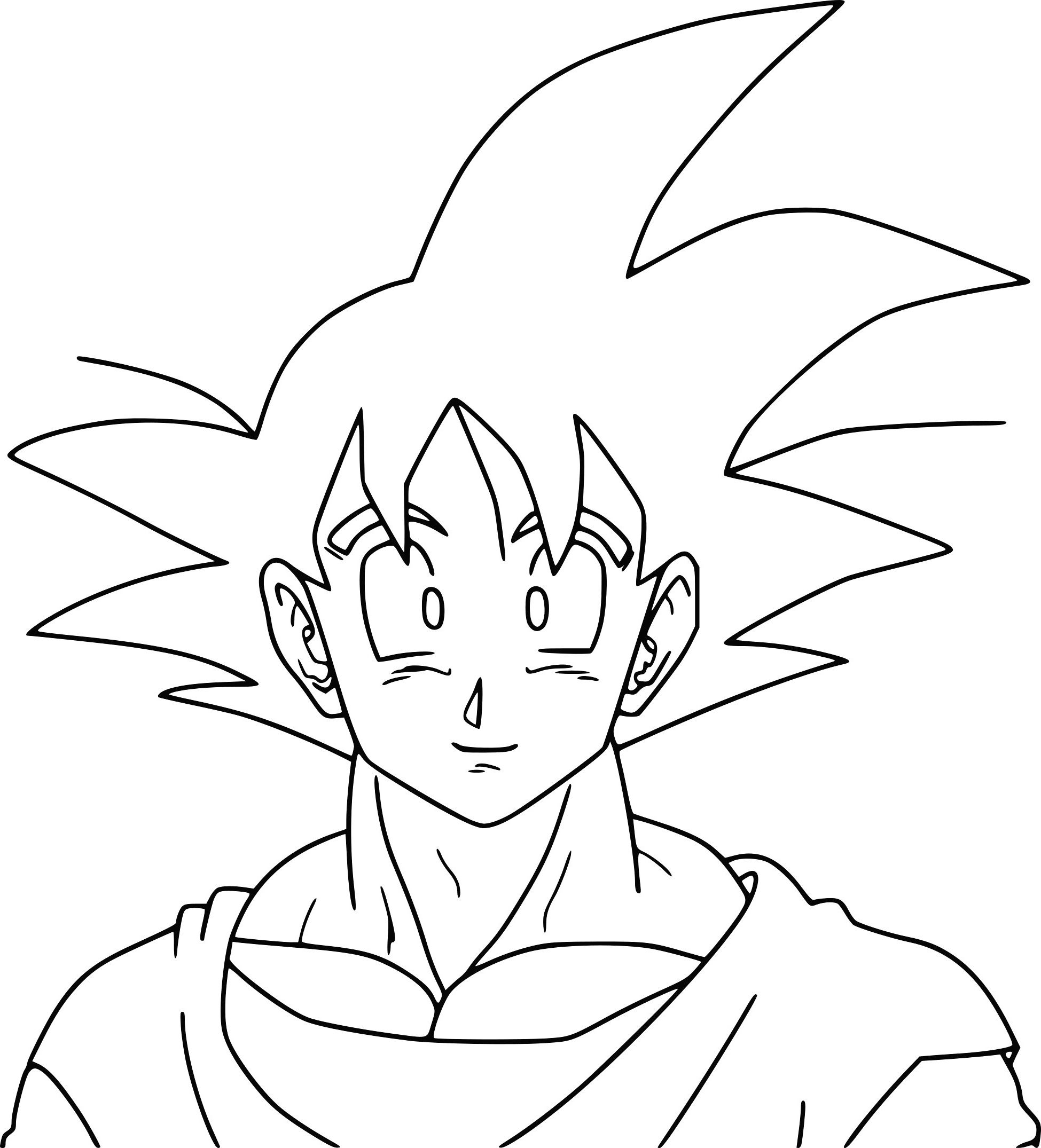 Facile Dragon Ball Broly Super Sayian Legendaire Coloriage Dragon